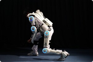 Cyberdyne's Robotic Suit is capable of a wide range of stable movement