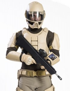 A concept photo for the U.S. Army's Future Soldier 2030 program.