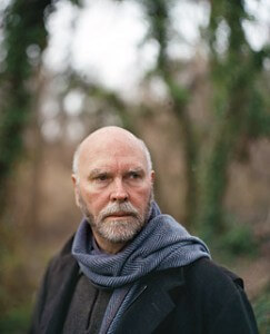 Craig Venter with a scarf on