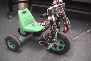 Polybot is a modular robot from PARC that can ride a tricycle.