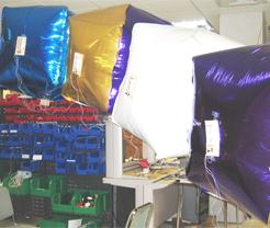 To test Catom forces without gravity, helium filled prototypes are used.
