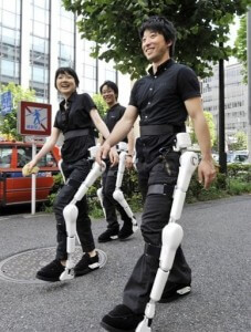 HAL suits make a Tokyo street debut