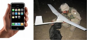 Could the iPhone replace the bulky controls of the Raven Drone?
