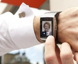 The LG watch phone is coming to London.