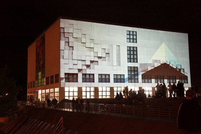 Say goodbye to boring buildings with enormouse art installations from Urbanscreen