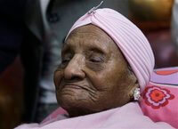 The oldest person in the world, Gertrude Baines, just died at age 115