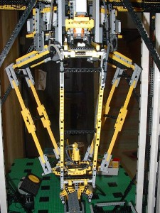 A FlexPicker made out of Legos? Someone had too much time on their hands.