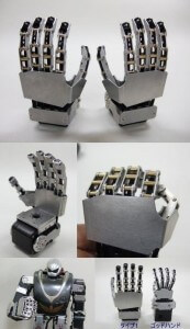 These model robot hands are pretty, but they also cost $650+