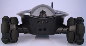Robotic security cameras...will they be used for good or for evil? Or for awesome?