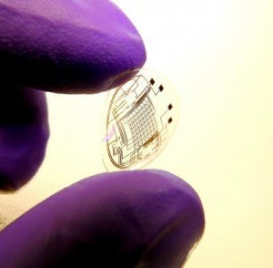 Parviz and his team have already started developing ways to get integrated circuits onto a contact lens.
