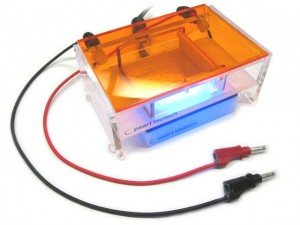 This electrophoresis gel box is open hardware - you can build one on your own.