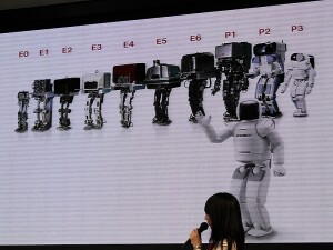 ASIMO is the culmination of a long line of robotic progenitors.