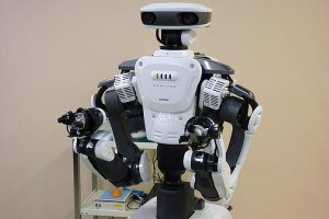 NEXTAGE from Kawada has the versatility of performance we've come to expect from humanoid robots.