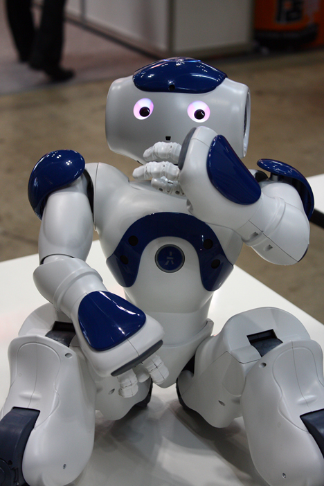 Nao is Alderbaran premier developmental robot.