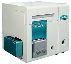 Hitachi's already sold 1000 of this easy to use and fairly cheap electron microscopes.