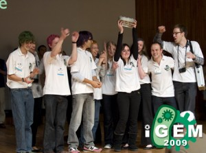 Cambridge University won this year's iGEM competition for their pigment producing bacteria.
