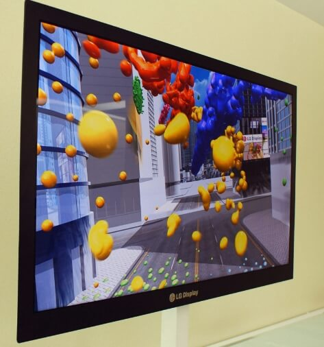 LG's new ultra thin LCD TV still gets brilliant pictures with 1080p and 120 Hz.