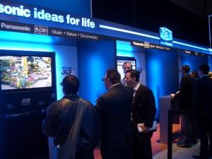 Panasonic 3D TV CES 2010