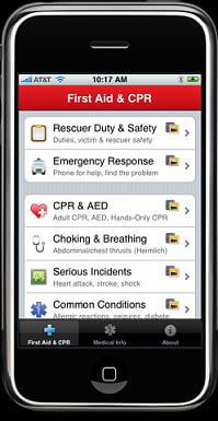 cpr and first aid app