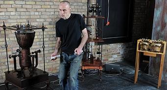 Jazari Robot drums