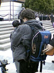 liveU backpack live news feed