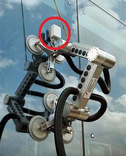 clean ant window washer robot