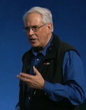 bill davenhall speaks at TEDMED