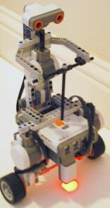 Segway Made from Lego Robot Kit Works Without a Gyro (video)