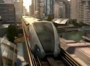 caprica maglev train