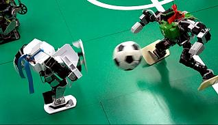 robot football getting better