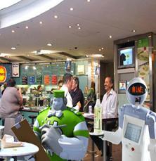 robot land robot servers