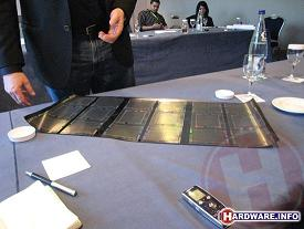 HP flexible SAIL display