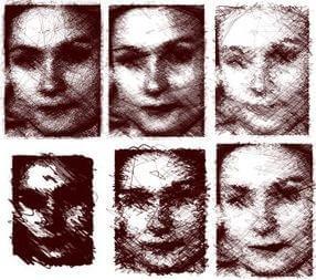 aikon II face drawing robot