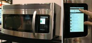 android enabled microwave