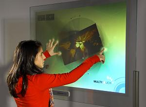 displax nanowire polymer film touchscreen