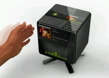 gesture cube concept