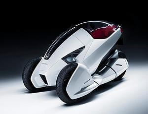 Electric One Person Vehicle