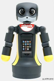 robovie MR2 ipod touch robot