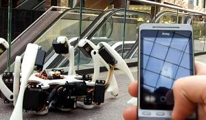 hexapod-iphone-robot