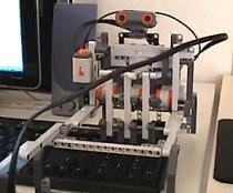 tetris bot lego robot