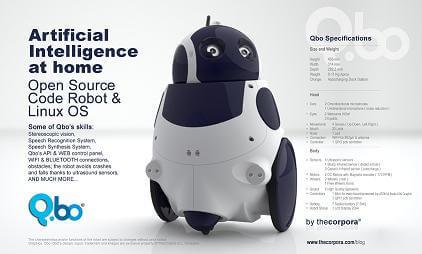 qbo-open-source-robot-details