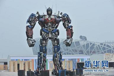 chinese-statue-transformer-optimus-prime-birds-nest