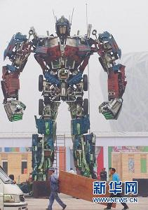chinese-statue-transformer-optimus-prime