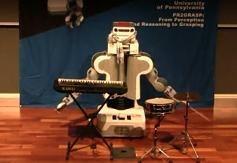 PR2-robot-playing-drums-keyboard
