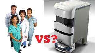hospitals-layoffs-robots