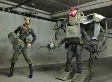 Check Out These Incredible Robot Costumes
