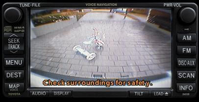 Mandatory rear view cameras