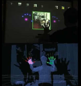Minority Report Interface Using Kinect