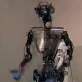 juggling robot from Sarcos