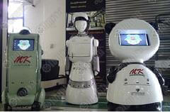 Bangkok University serving robots
